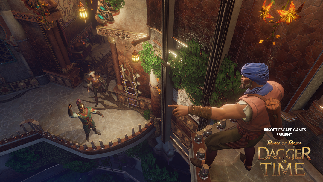 prince of persia escape game vr